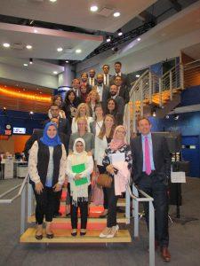 Brian Sullivan and the Gabr Fellows at CNBC Studios