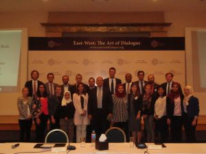 Ambassador Kareem Haggag with the Gabr Fellows
