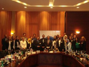 Fellows meet with Dr. Ahmed Darwish