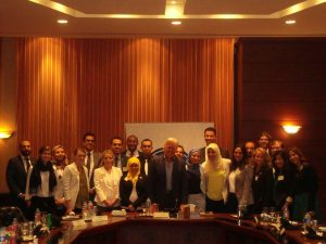 Fellows with Egypt Actor, Mr. Hussein Fahmy