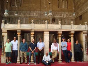 Gabr Fellows at Madrassa of Sultan Hassan