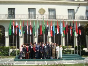 Gabr Fellows at the Arab League