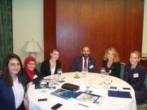 Gabr Fellows in a meeting