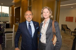 Mary Morton and Mr Shafik Gabr