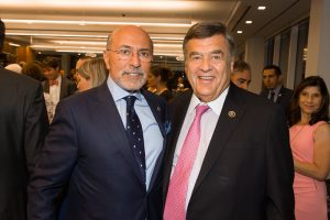 Mr Shafik Gabr and Congressman Dutch Ruppersberger