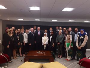 Gabr Fellows meet with Steve Forbes