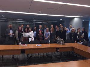Barry Pavel meets with the Fellows at the Brent Scowcroft Center