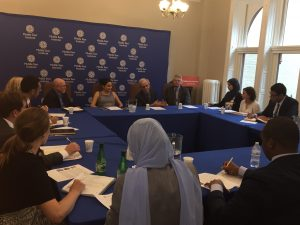 Middle East Institute Panel addresses the Gabr Fellows