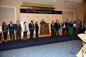Mr M. Shafik Gabr and the 2016 Gabr Fellows