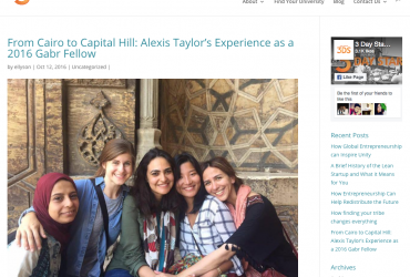From Cairo to Capitol Hill, a story covered by 3 Day Startup