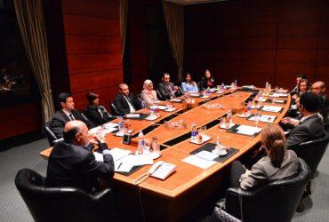 Gabr Fellows meet with Chairman Shafik Gabr at the Shafik Gabr Foundation in DC