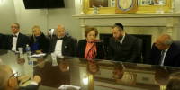 Private meeting with Former First Lady of Egypt